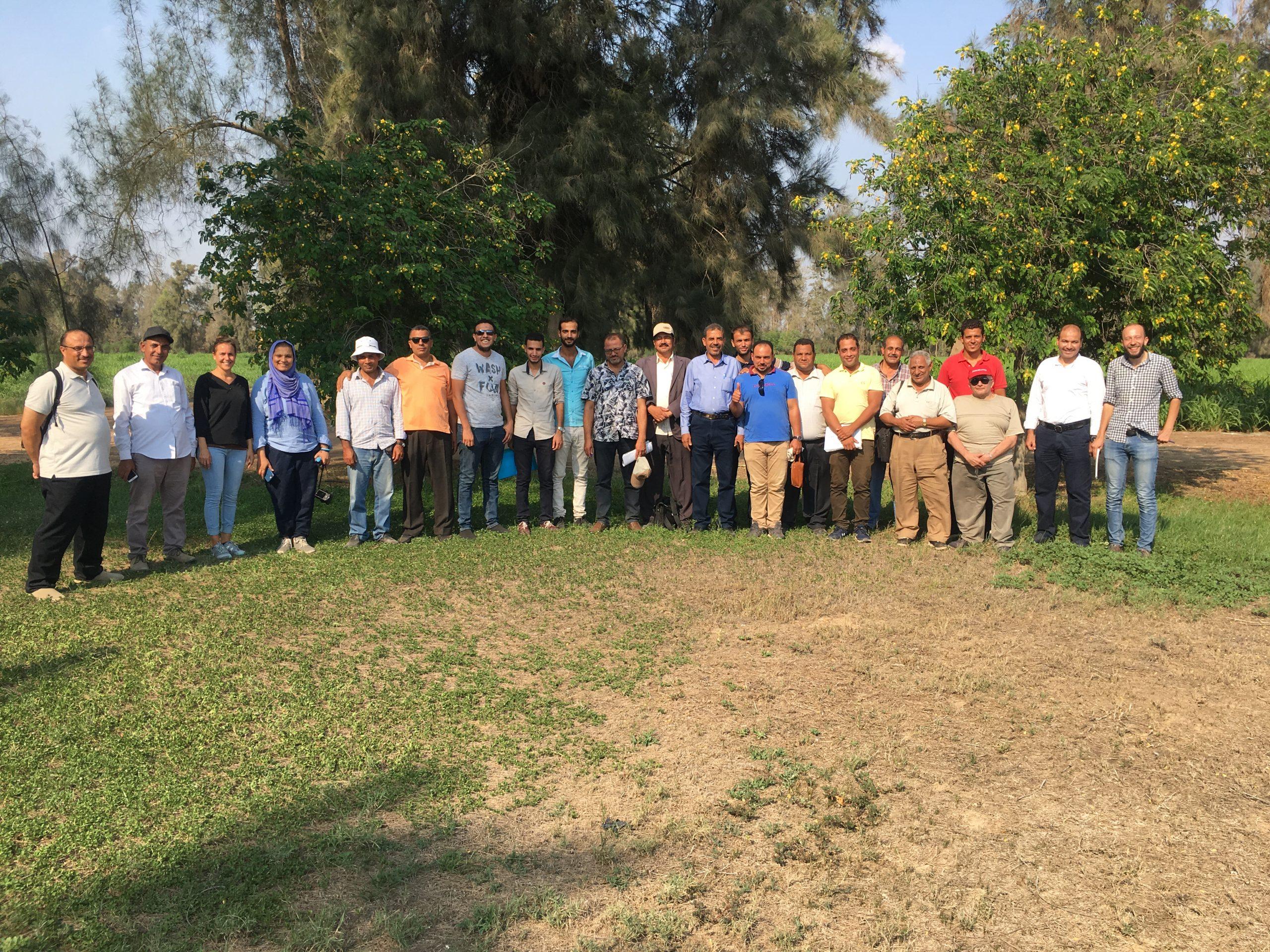 Egyptian Bio-Dynamic Association training